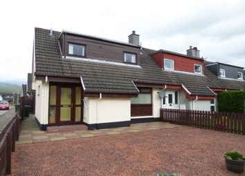 Thumbnail 2 bed end terrace house for sale in Castle Drive, Lochyside, Fort William