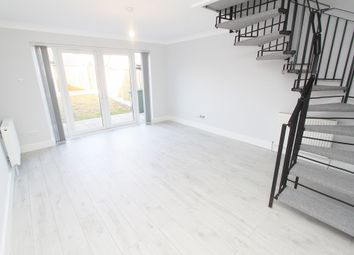 Thumbnail 2 bed end terrace house to rent in Hailsham Road, Romford