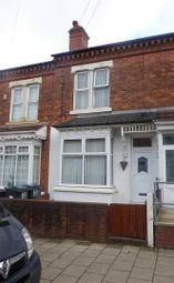 Thumbnail 3 bed terraced house to rent in Ellesmere Road, Saltley, Birmingham