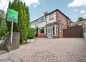 Thumbnail 3 bed semi-detached house for sale in Kenilworth Avenue, Whitefield, Manchester