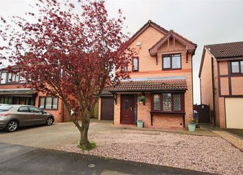 Thumbnail 3 bed detached house for sale in Moreton Drive, Leigh, Lancashire