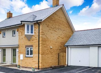 Thumbnail 2 bedroom semi-detached house for sale in Molesworth Way, Holsworthy