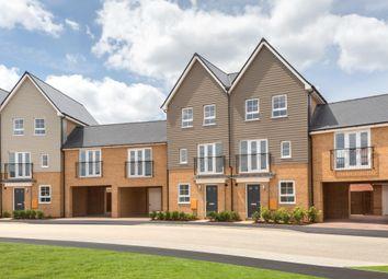 "Thumbnail 4 bed terraced house for sale in ""Faversham Link"" at Carters Lane, Kiln Farm, Milton Keynes"