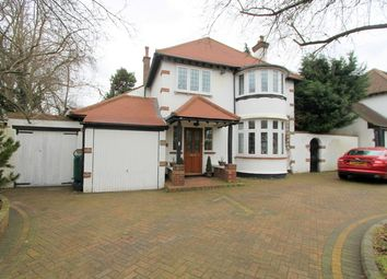 Thumbnail 4 bed detached house for sale in Redford Avenue, Wallington