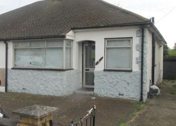 Thumbnail 2 bed semi-detached bungalow to rent in Derby Avenue, Upminister Bridge, Essex