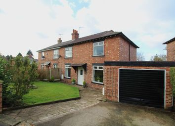 Thumbnail 3 bed semi-detached house for sale in Queens Avenue, Macclesfield