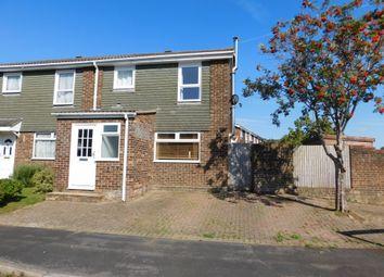 Thumbnail 3 bed semi-detached house for sale in Thirlmere Close, Stubbington, Fareham
