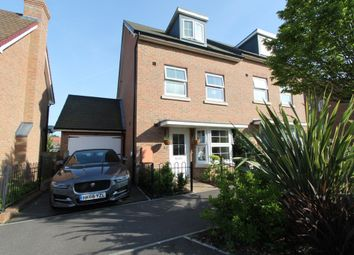 Thumbnail 4 bedroom semi-detached house for sale in Sholden Drive, Deal