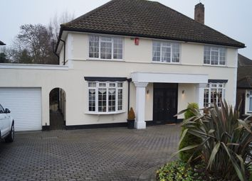Thumbnail 4 bed detached house to rent in Newmansway, Hadley Wood, Enfield