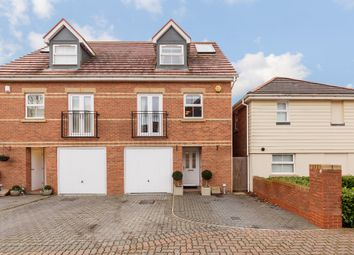 Thumbnail 3 bed semi-detached house for sale in Olvega Drive, Buntingford