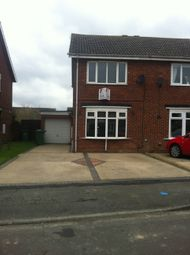 Thumbnail 2 bed semi-detached house to rent in Calder Close, Immingham