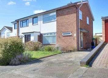 Thumbnail 3 bed semi-detached house to rent in The Rowlands, Benfleet