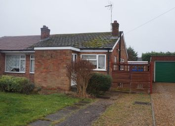 Thumbnail 3 bed semi-detached bungalow for sale in Basil Green, Orton Longueville, Peterborough