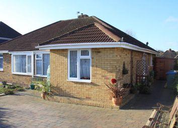 Thumbnail 2 bed semi-detached bungalow for sale in Nicholas Crescent, Fareham