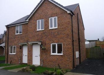 Thumbnail 3 bed semi-detached house to rent in Lynas Place, Evenwood, Bishop Auckland, County Durham