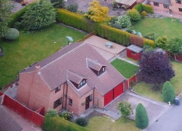 Thumbnail 4 bed detached house for sale in Anderby Gardens, Church Gresley
