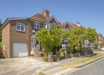 Thumbnail 4 bed semi-detached house for sale in Rushlake Road, Brighton
