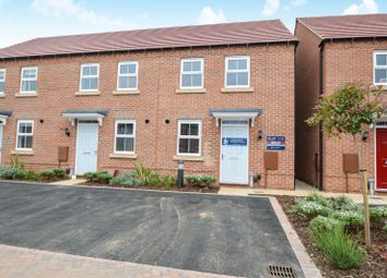 Thumbnail 3 bed end terrace house to rent in John Boden Way, Loughborough