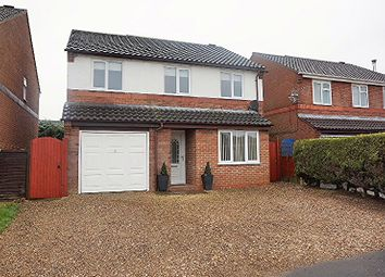 Thumbnail 4 bed detached house for sale in Windsor Close, Sudbrooke