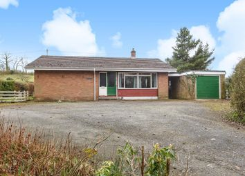 Thumbnail 2 bed detached bungalow for sale in Crossgates, Llandrindod Wells