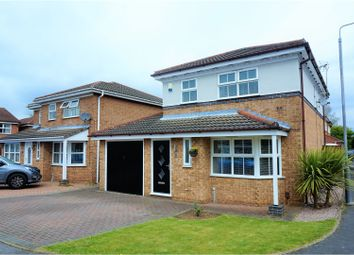 Thumbnail 3 bed detached house for sale in Kirkland Close, Sutton-In-Ashfield