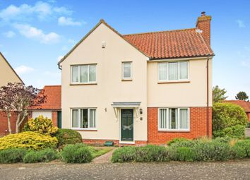 Thumbnail 4 bed detached house for sale in The Glebe, Sudbury