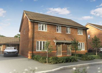 "Thumbnail 3 bed semi-detached house for sale in ""The Byron"" at Omega Boulevard, Warrington"