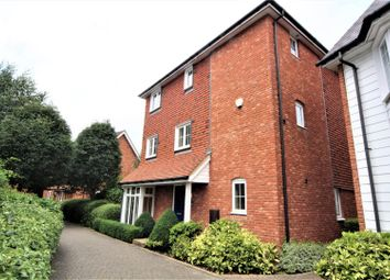Thumbnail 4 bed detached house to rent in Ames Way, Kings Hill, West Malling