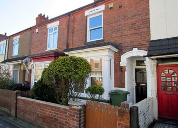 Thumbnail 3 bed terraced house to rent in Durban Road, Grimsby