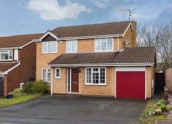 Thumbnail 5 bed detached house for sale in Catherine Close, Orton Longueville, Peterborough