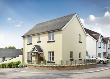 """Thumbnail 3 bed semi-detached house for sale in """"The Mountford"""" at The Rocklands, Chudleigh, Newton Abbot"""