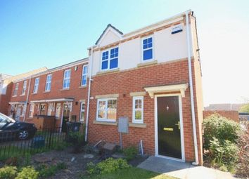 Thumbnail 3 bed end terrace house for sale in Carlton Moor Crescent, Darlington