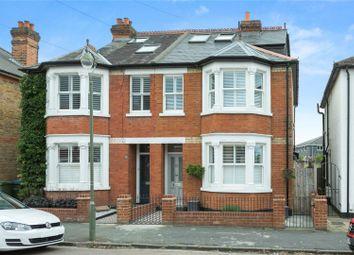 Thumbnail 4 bed semi-detached house for sale in Cedar Road, Weybridge, Surrey