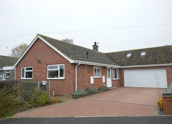 Thumbnail 3 bed detached bungalow for sale in Meadow Way, Attleborough, Norfolk, Norfolk