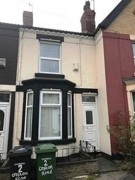 Thumbnail 2 bed terraced house to rent in Crofton Road, Tranmere, Wirral