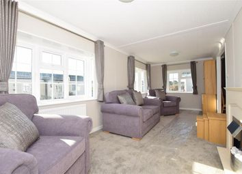 Thumbnail 2 bed mobile/park home for sale in Vicarage Lane, Hoo, Rochester, Kent