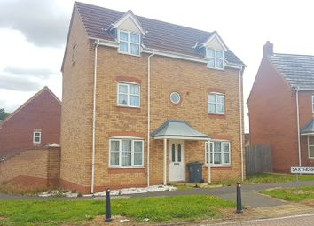 Thumbnail 4 bedroom detached house to rent in Saxthorpe Road, Hamilton, Leicester