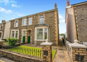 Thumbnail 3 bed semi-detached house for sale in Pandy Road, Bedwas, Caerphilly
