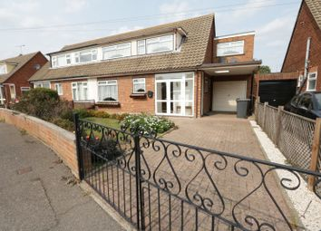 Thumbnail 3 bed semi-detached house for sale in Larkfield Close, Rochford, Essex