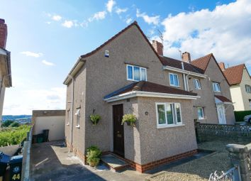 Thumbnail 3 bed semi-detached house for sale in Stockwood Crescent, Knowle, Bristol