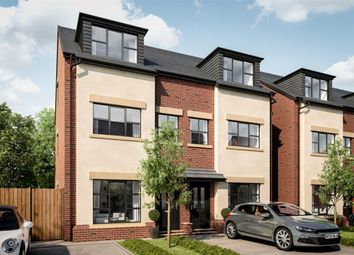 Thumbnail 4 bedroom town house for sale in Woodland Grange, Ellenbrook, Manchester