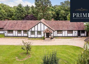 Black Lake Close, Egham TW20. 5 bed detached bungalow for sale