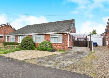 Thumbnail 2 bed semi-detached bungalow for sale in Bishop Herbert Close, Hockering, Dereham