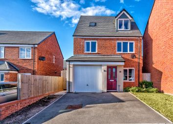 Thumbnail 4 bed detached house for sale in Winding House Drive, Hednesford, Cannock