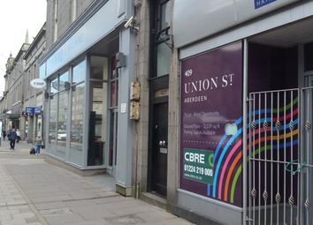 Thumbnail 1 bed flat to rent in Flat 2, Union Street, Aberdeen