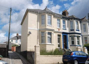 Thumbnail 3 bedroom end terrace house for sale in Wesley Avenue, Plymouth