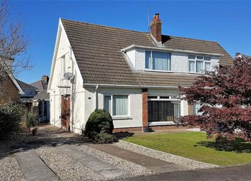 Thumbnail 4 bed semi-detached house for sale in Woodfield Avenue, Swansea