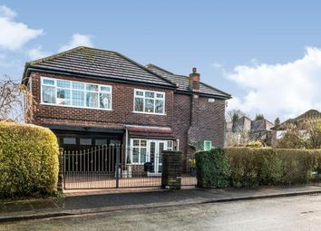 Thumbnail 4 bedroom detached house for sale in Cecil Avenue, Sale, Cheshire, Greater Manchester