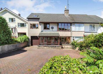 Thumbnail 4 bed semi-detached house for sale in Swinnate Road, Arnside, Carnforth