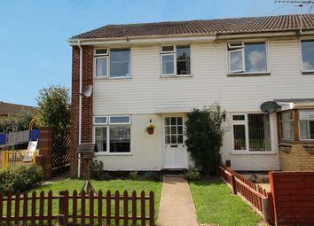 Thumbnail 3 bed end terrace house to rent in Drake Close, Locks Heath, Southampton